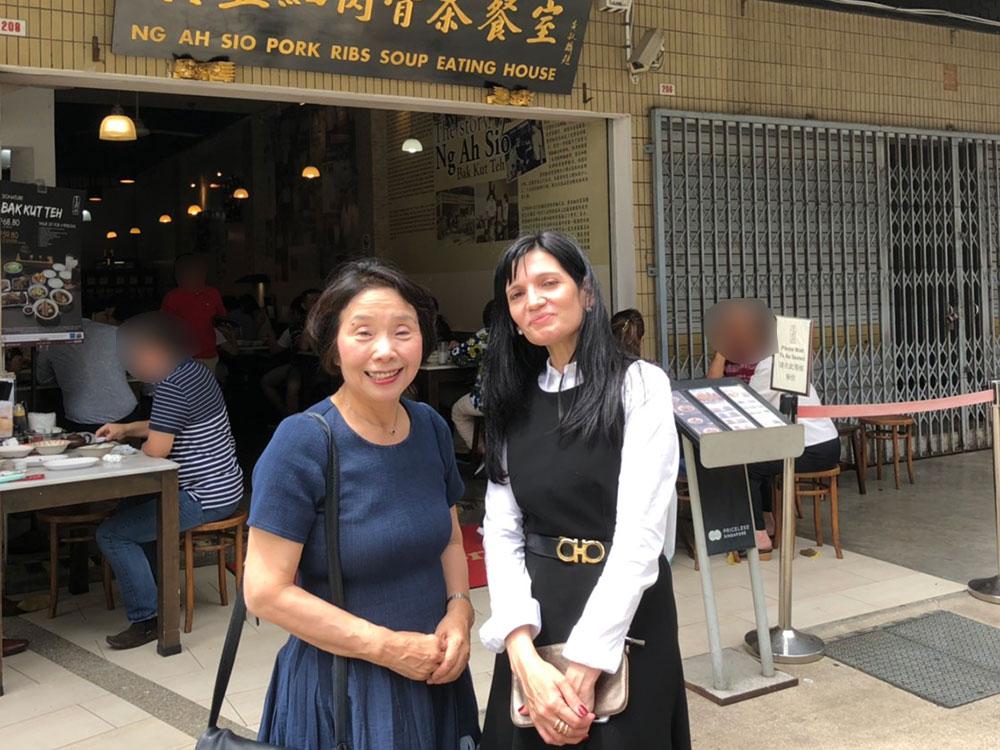 シンガポールで出会った女性たち(その2)日本語・英語・ロシア語の通訳で活躍するロシアの「言語の達人」