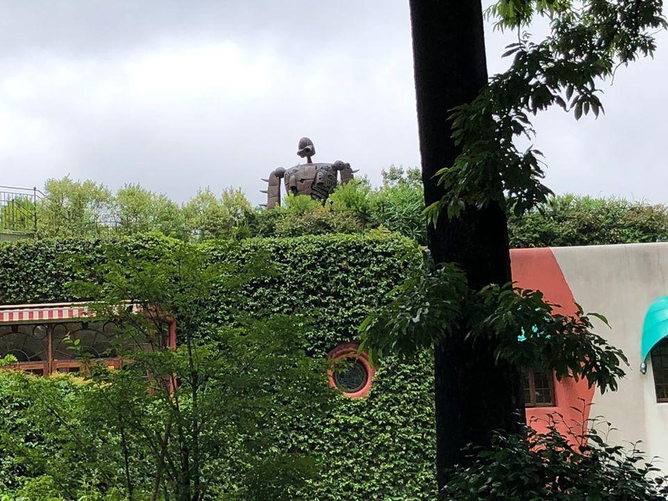 stayhome中の三鷹の森ジブリ美術館。