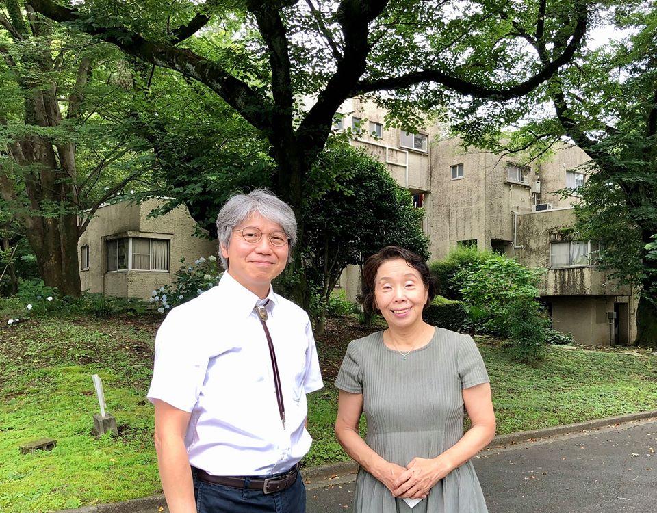 ルーテル学院大学石居基夫学長と懇談しました。