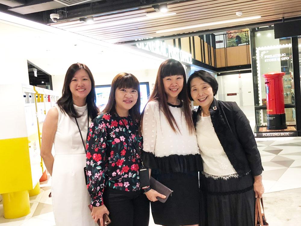 シンガポールで出会った女性たち(その3)シンガポール・ポスト社の役員として活躍する多数の女性たち