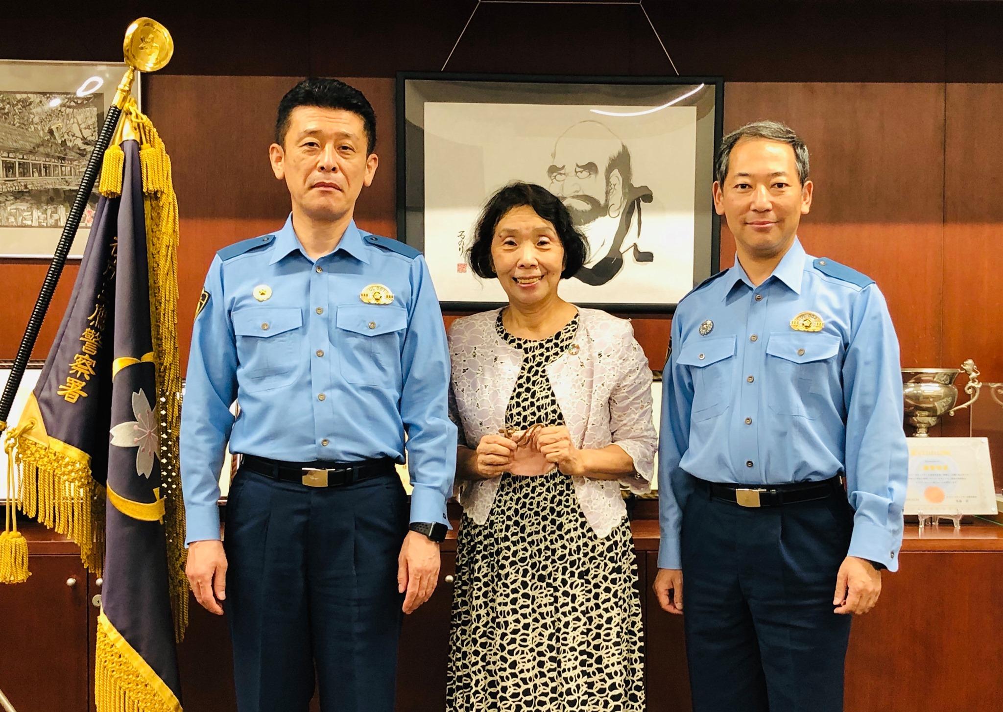警視庁三鷹警察長署長の川崎智さんとお会いしました。