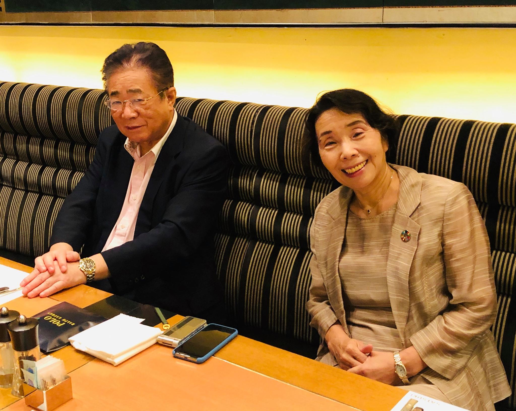 全国市長会会長の立谷秀清相馬市長と対話しました。