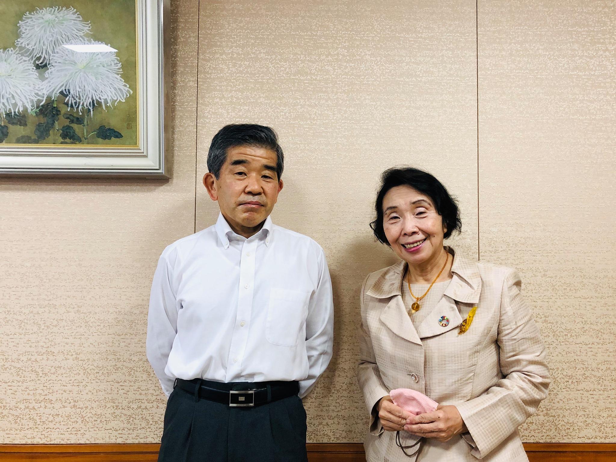 全国町村議会議長会事務総長の望月達史さんと対話しました。