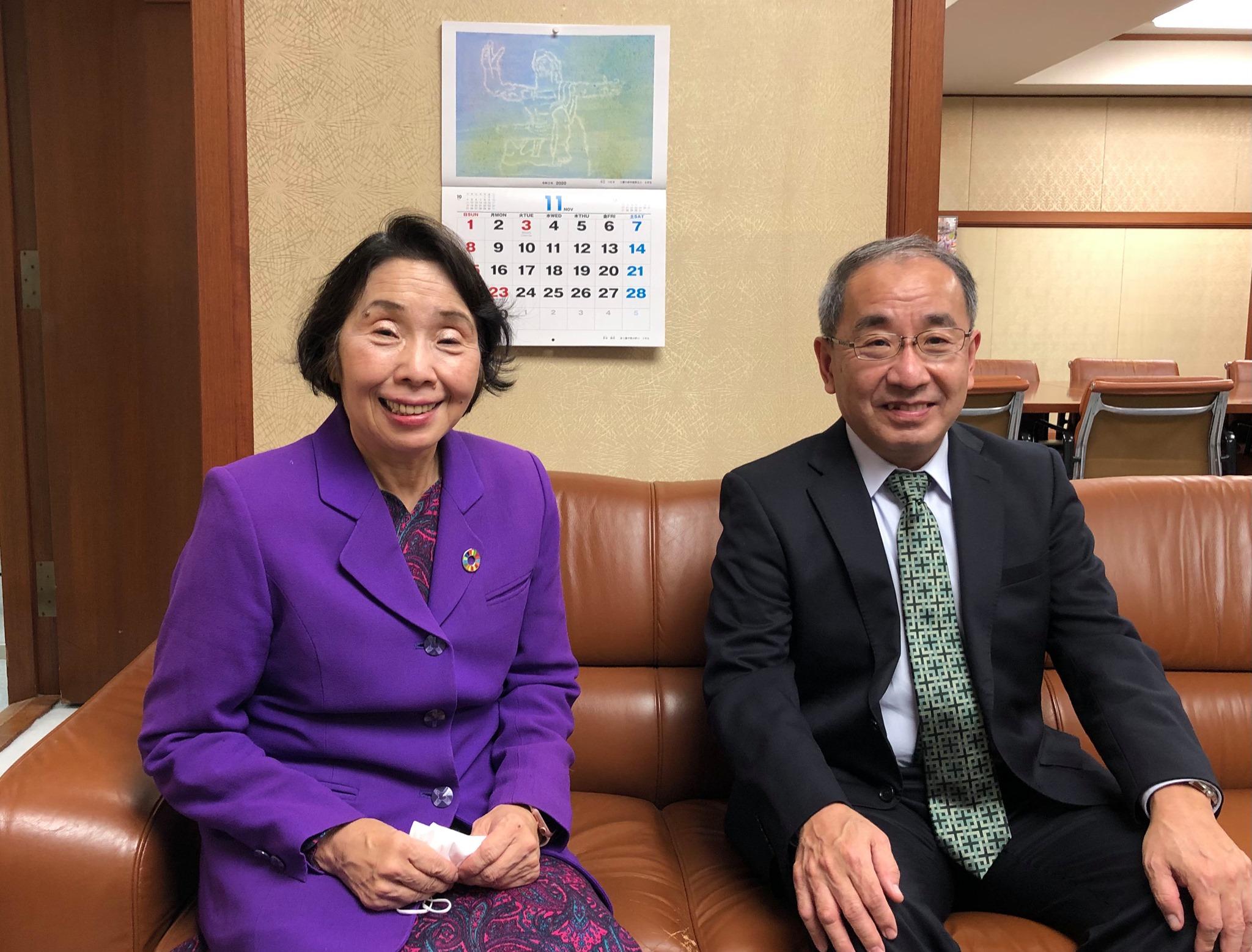 全国市長会事務総長の稲山博司さんと対話しました。