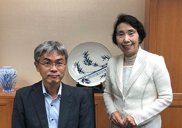【都政新報】素顔の「創造人」たち─清原慶子が聞く(26)