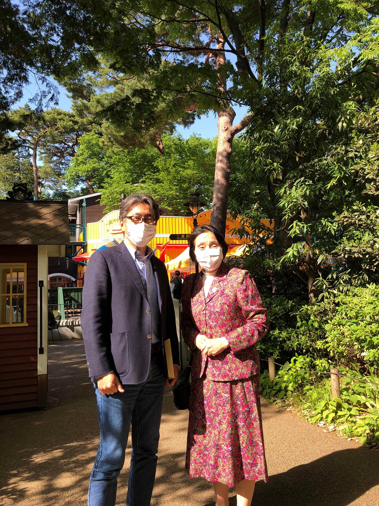 三鷹の森ジブリ美術館館主の中島清文さんとの対話