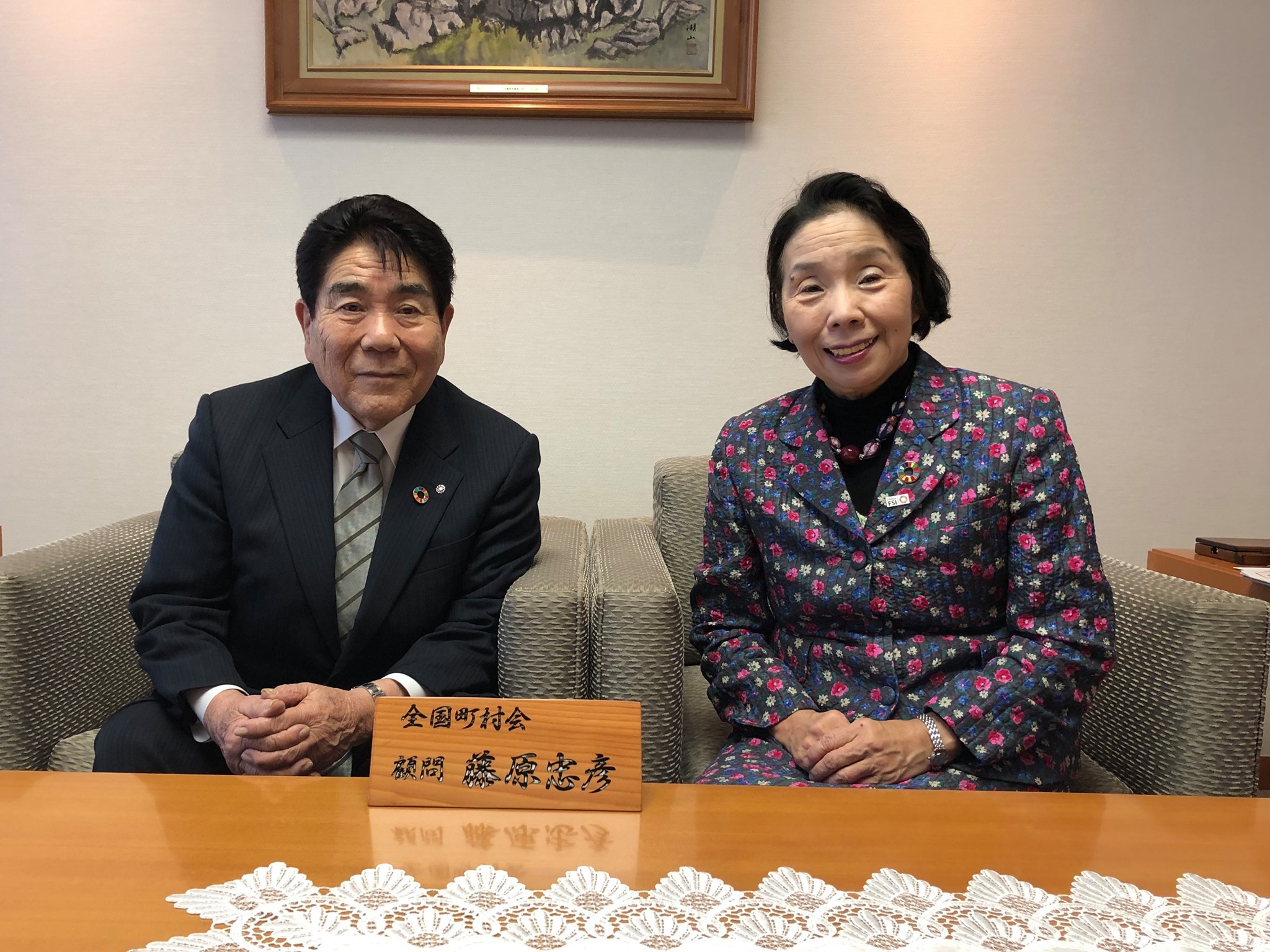 長野県川上村村長の藤原忠彦さんとお会いしました。