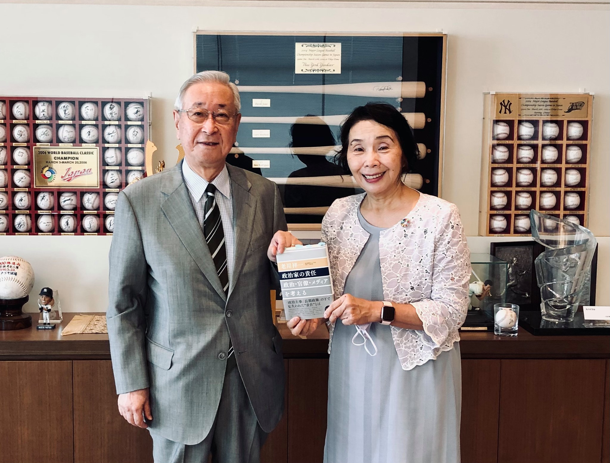 読売新聞東京本社取締役・論説委員長の老川祥一さんを訪問しました。