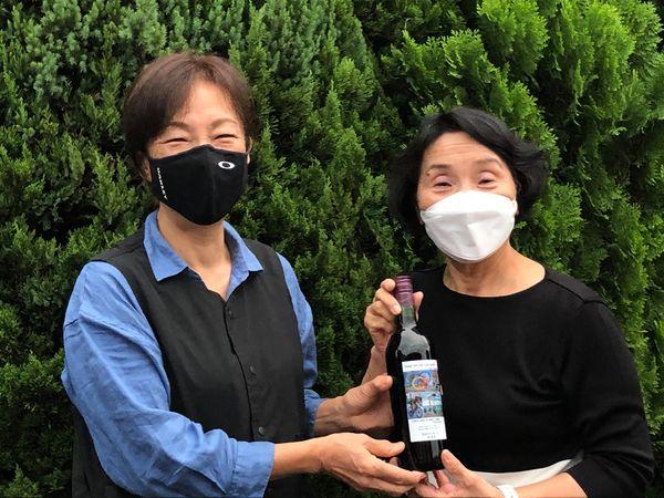 東京2020オリンピック大会のトライアスロン競技日本代表高橋侑子選手のお母様(真由子さん)とお目にかかりました。