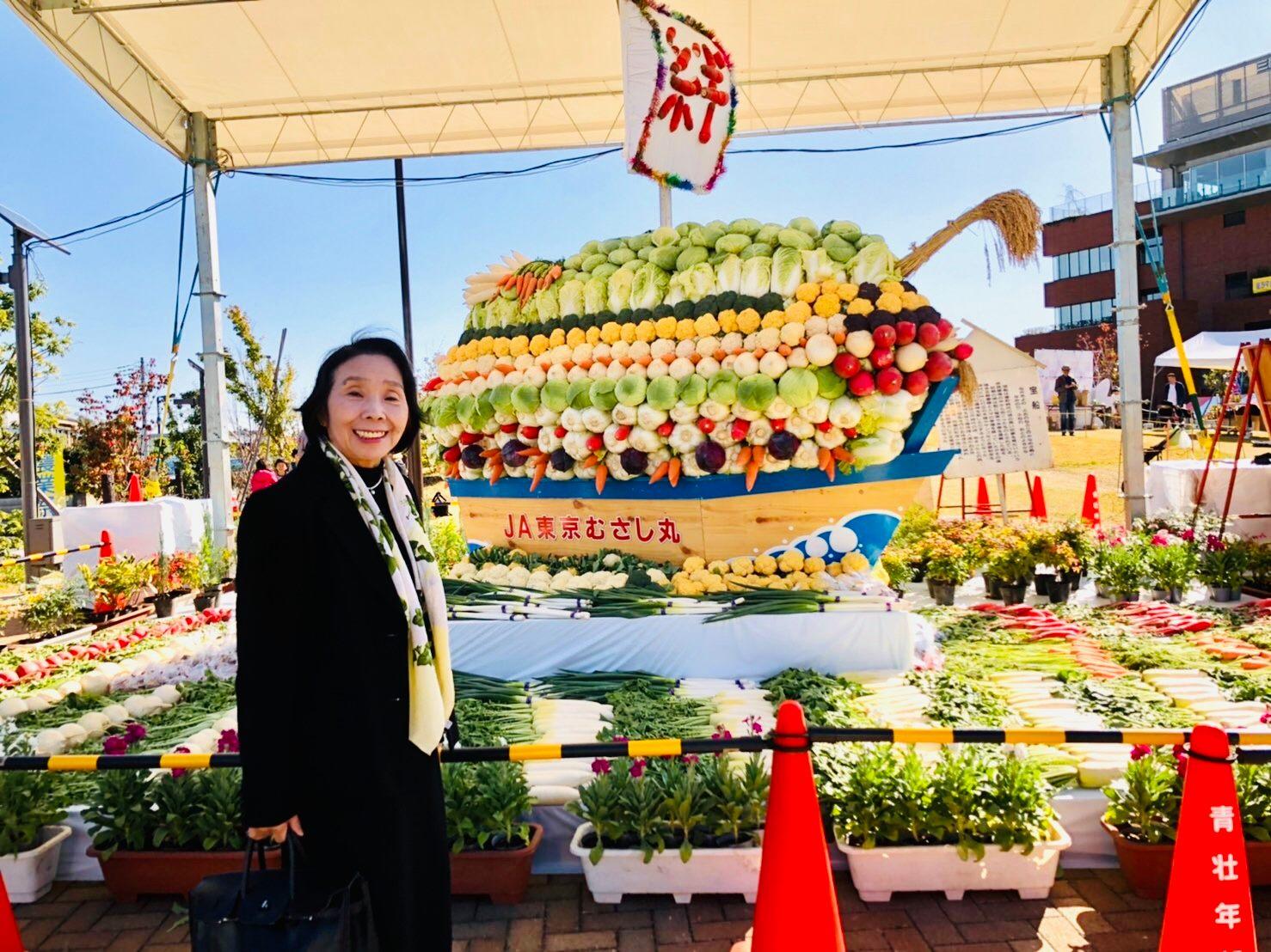 農とふれあおう!第59回三鷹市農業祭(2日目)