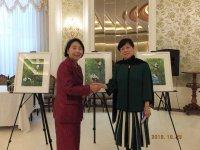 中国対外友好協会李小林会長と